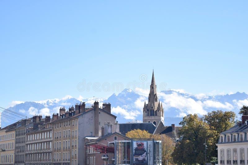 Grenoble, Frankrijk stock foto's