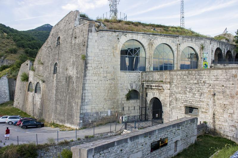 Grenoble Frankrike royaltyfri foto