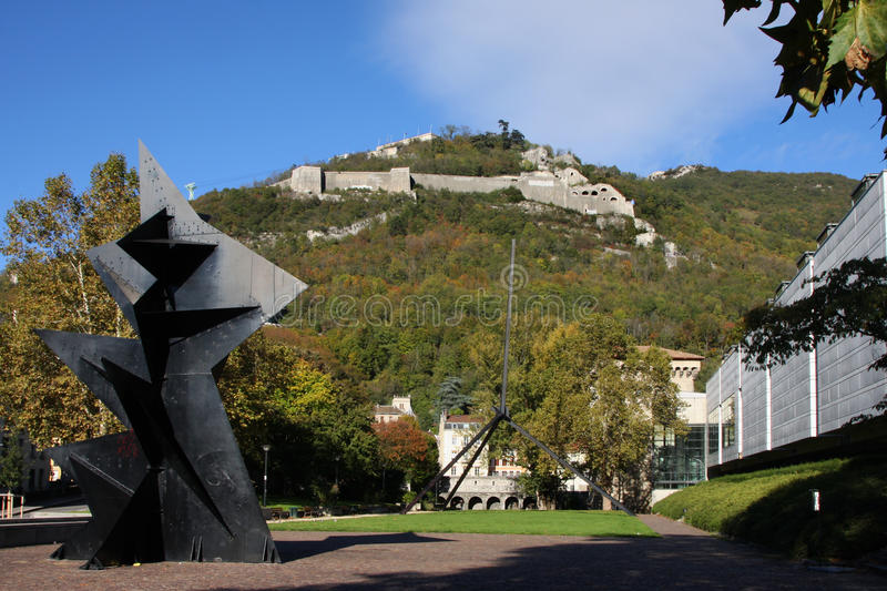 Download Grenoble Museum And Bastille Stock Image - Image: 27472047