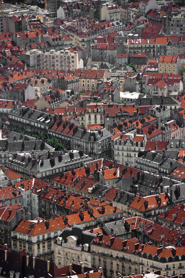 Download Grenoble rooftops stock image. Image of town, city, architecture - 11212743