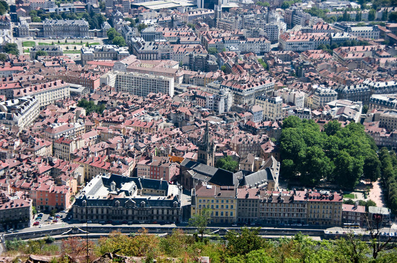 Download Grenoble rooftops stock image. Image of roof, grenoble - 11212811