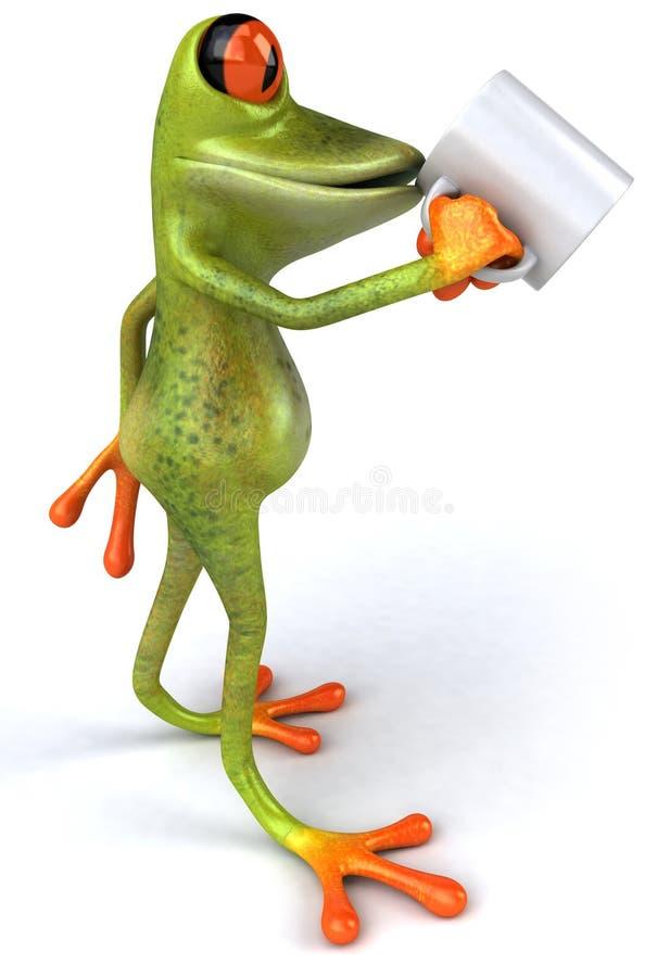 Download Grenouille illustration stock. Illustration du grenouille - 8659032