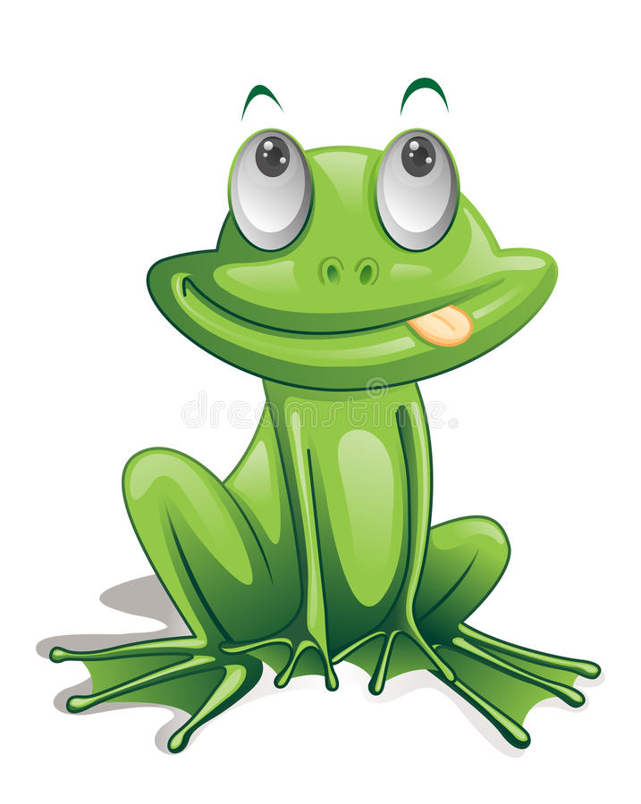 grenouille illustration de vecteur
