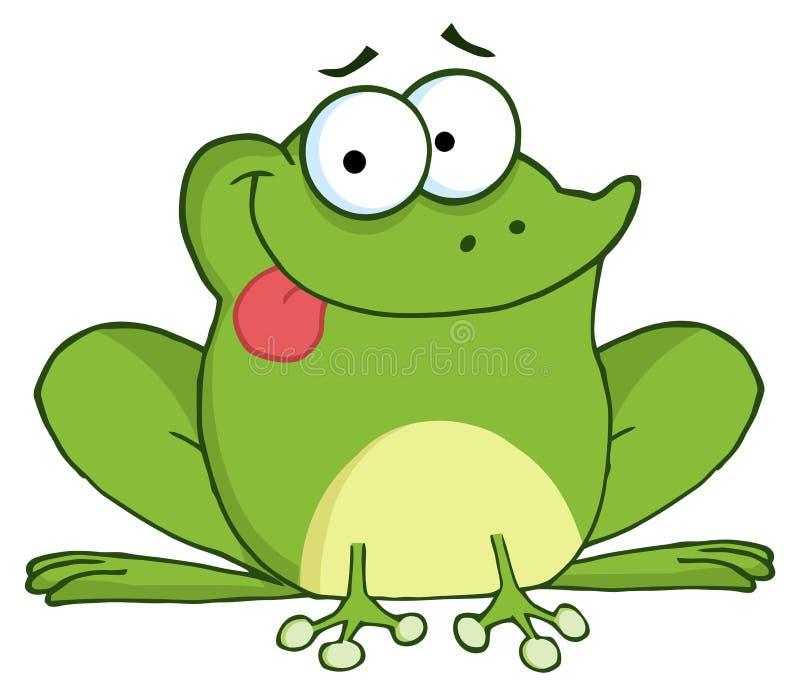 Grenouille heureuse illustration stock