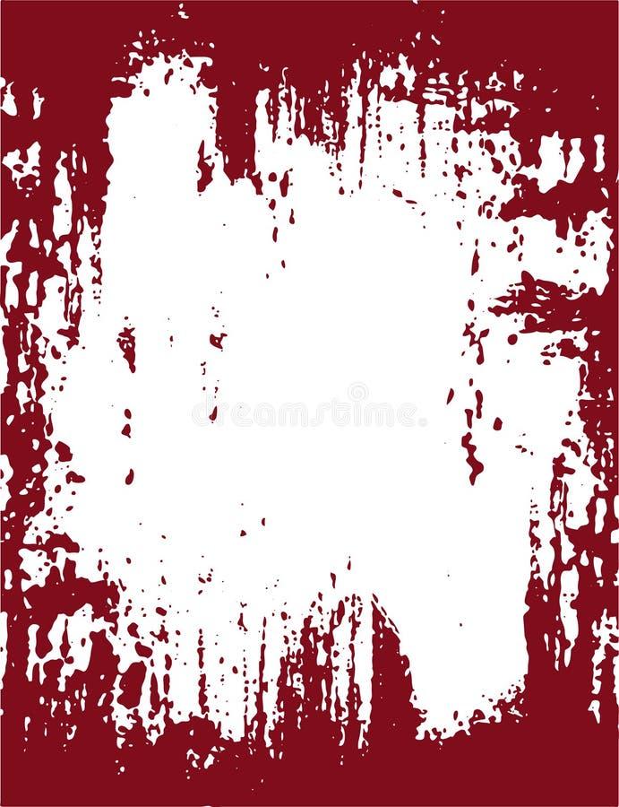 Grens 09 van Grunge stock illustratie