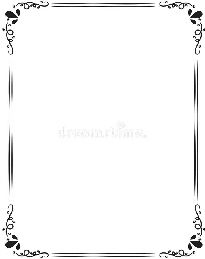 Grens stock illustratie