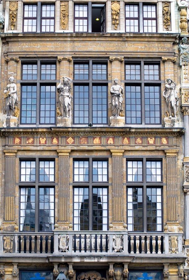 Grenzstein von Brüssel stockfoto