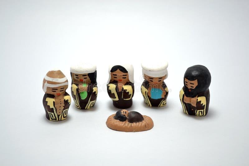 Greppia tradizionale messa in ceramica fotografia stock libera da diritti