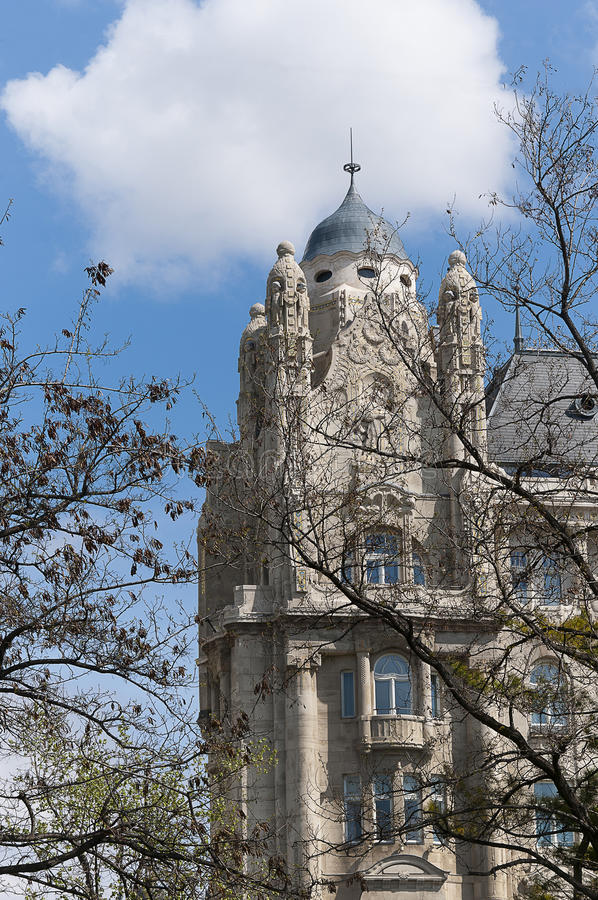 Download Gresham Building In Budapest Hungary Stock Image - Image: 29168367