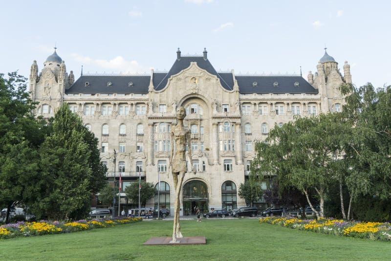 Gresham slott i Budapest arkivfoton