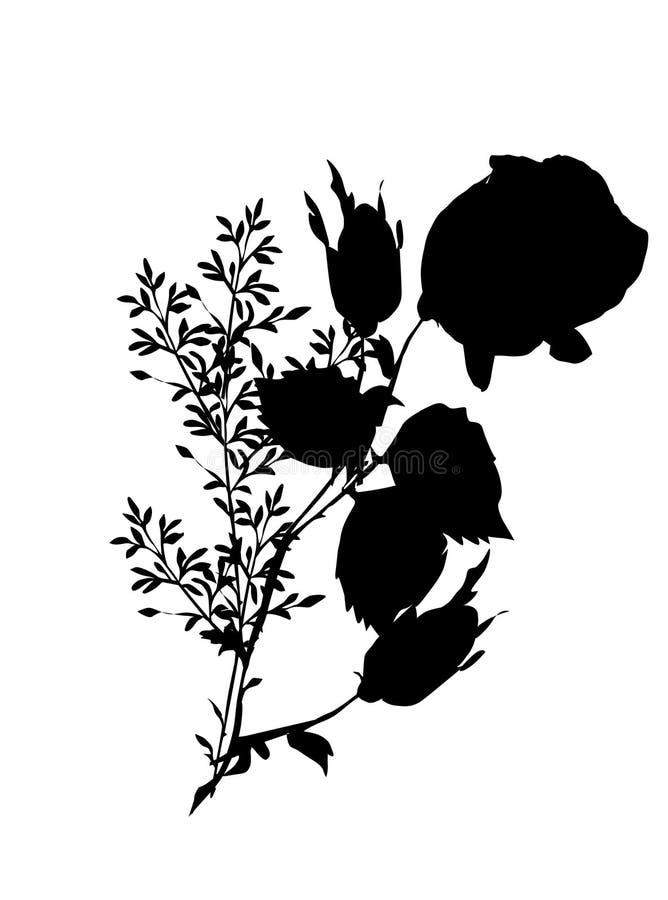gress αυξήθηκε σκιαγραφία διανυσματική απεικόνιση
