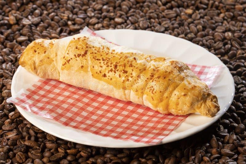 Gressins avec du fromage - pain colombien Vue supérieure photos libres de droits