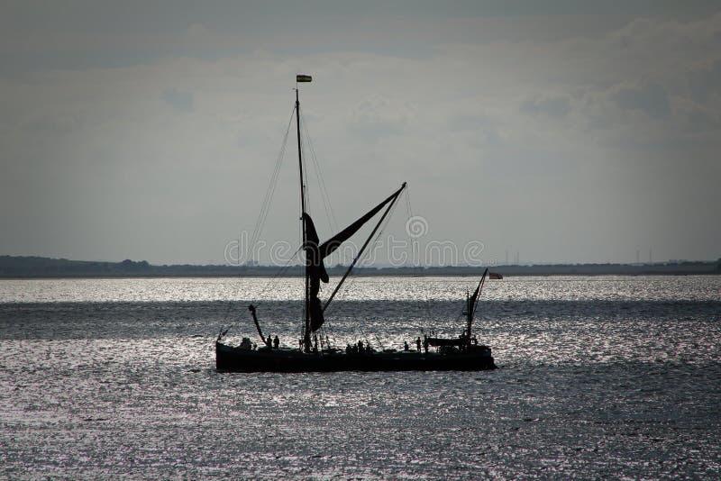 Greta żeglowania barka obrazy royalty free