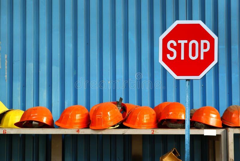 Greve do trabalho - desemprego fotografia de stock royalty free