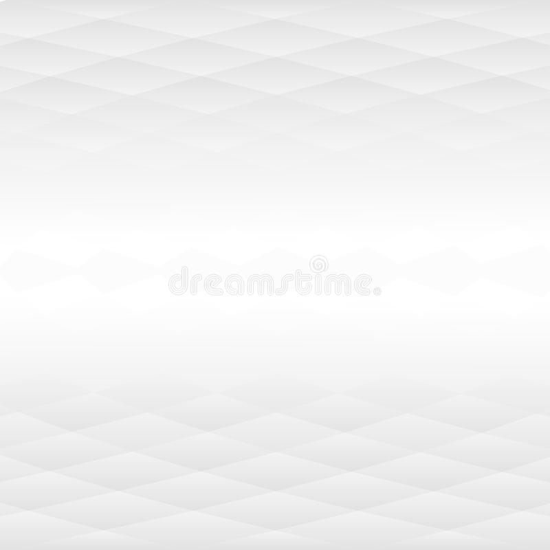 Grey Abstract Background avec la partie moyenne éloignée illustration stock