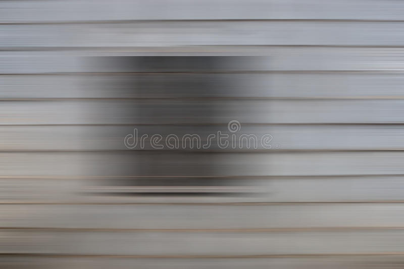 Grey Abstract Background. A Grey abstract panel background with horizontal slats or lines. Photo taken on: October 29th, 2014 stock photo