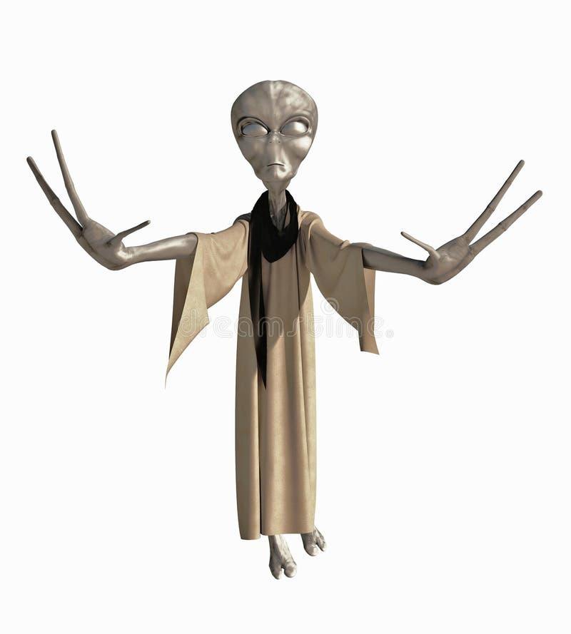 Grey Alien Creature