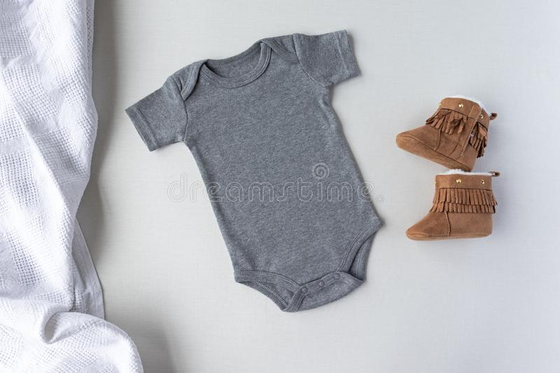 Halloween Design Styled Stock Photography Wood Background Baby Mock up JPG Download Flat Top View Blank Black Baby Fall Bodysuit Mockup