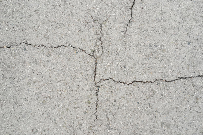 Grey background wall cracked. Texture surface royalty free stock photos