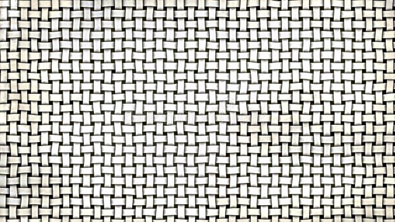 Grey Basket Texture lizenzfreie abbildung