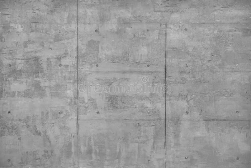 Grey Beton Wall decorativo como o fundo fotografia de stock