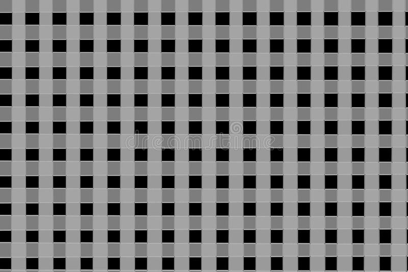 Grey and black cubic lines background royalty free stock images