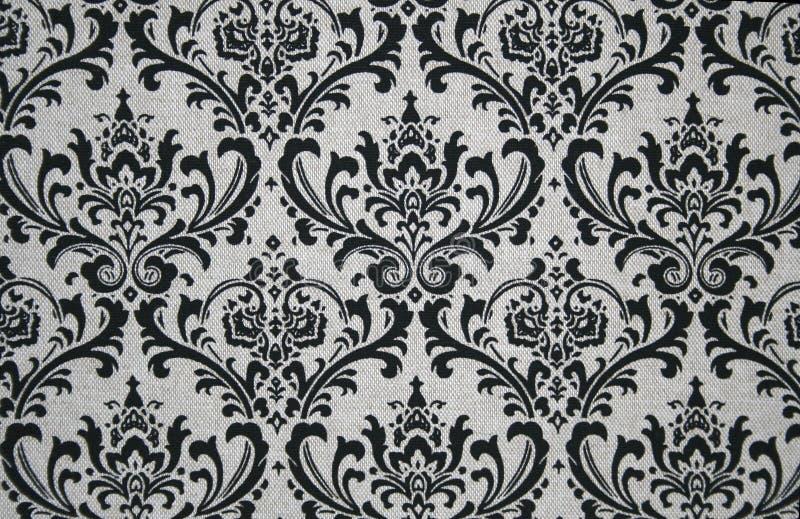 Download Grey And Black Damask Pattern Stock Illustration - Image: 15209421