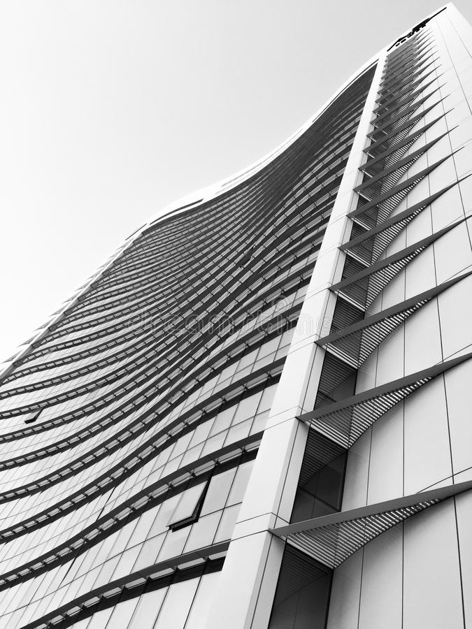 Grey and Black High Rise Building stock photos