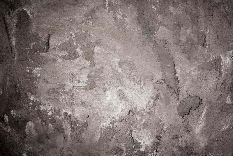 Grey black spotted stone concrete table. Background, blank royalty free stock photography