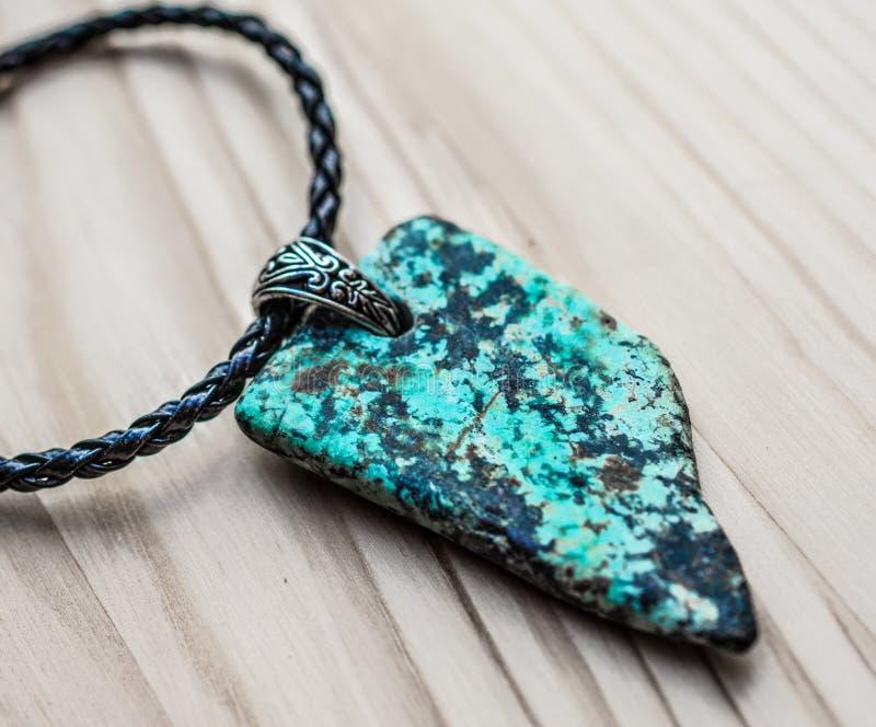 Grey And Black Stone Pendant On Black Necklace Free Public Domain Cc0 Image