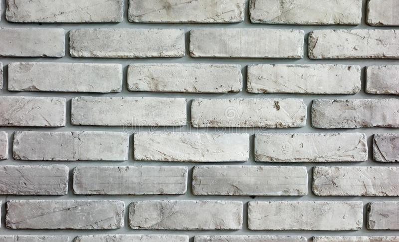 Grey Brick wall background texture stock photo
