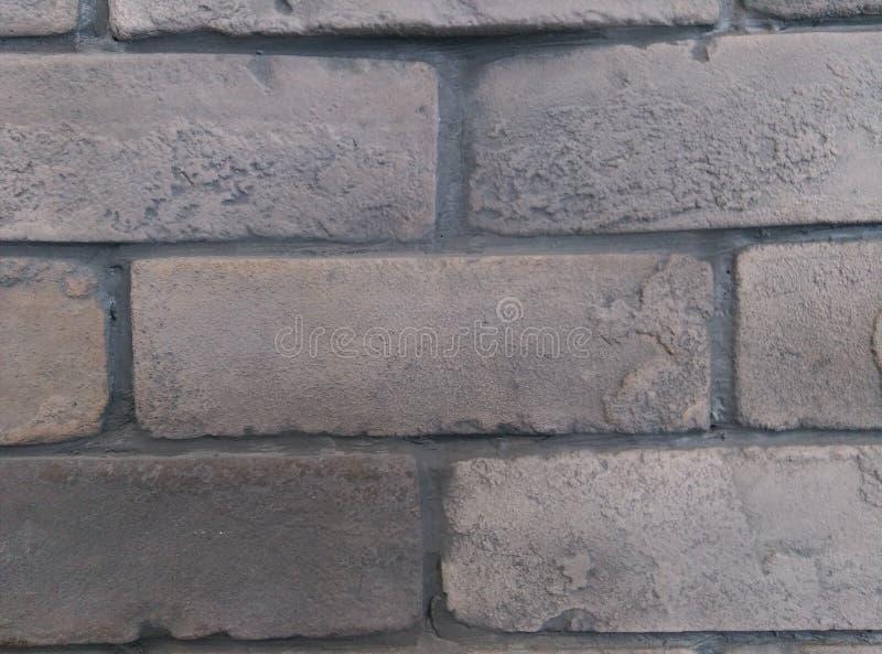 Grey Brick Wall royalty free stock photography