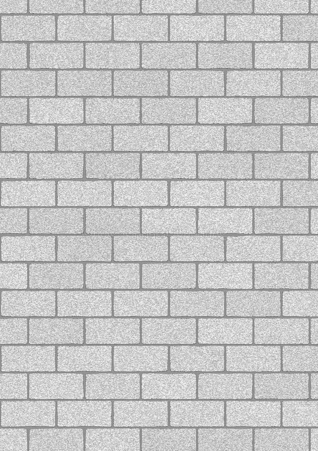 Download Grey Bricks Background Stock Illustration Of Abstract