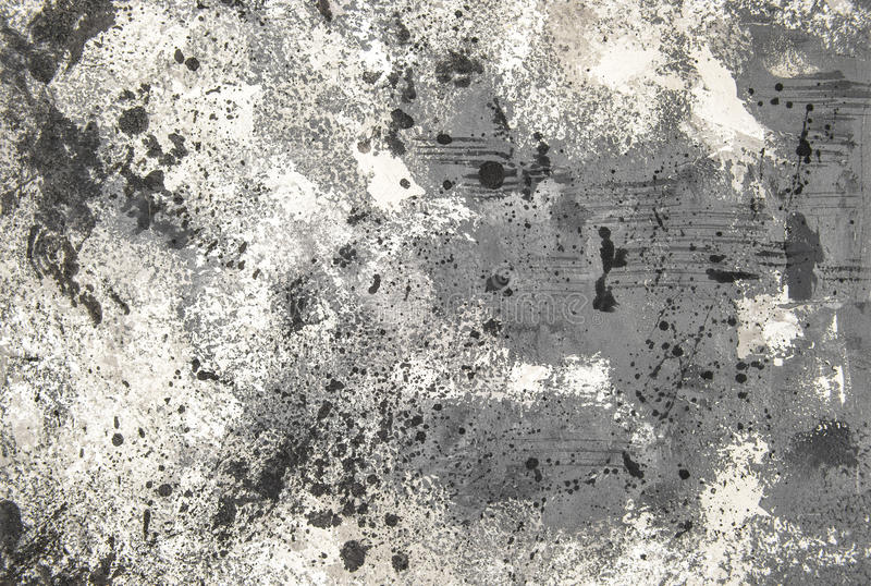 Grey cement background stains Concrete stone texture stock photo
