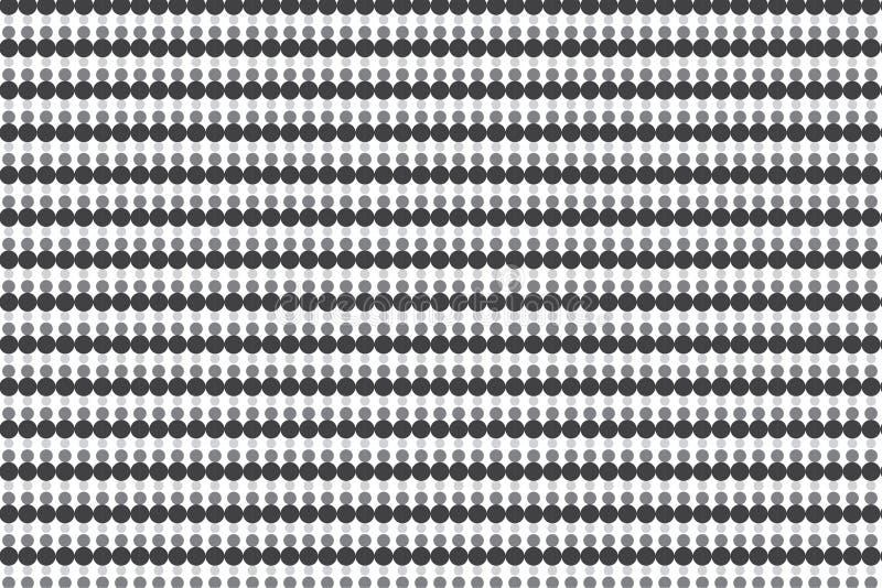 Grey Circles Texture illustrazione vettoriale