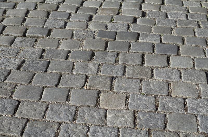 Grey Cobblestones Texture immagine stock