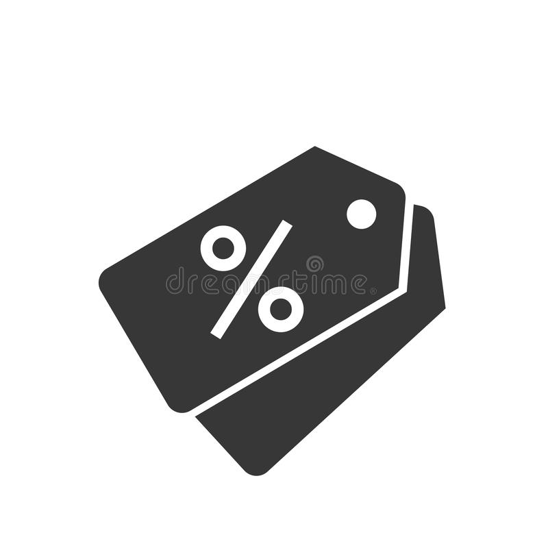 Grey color Percent discount badge icon vector eps10. royalty free illustration