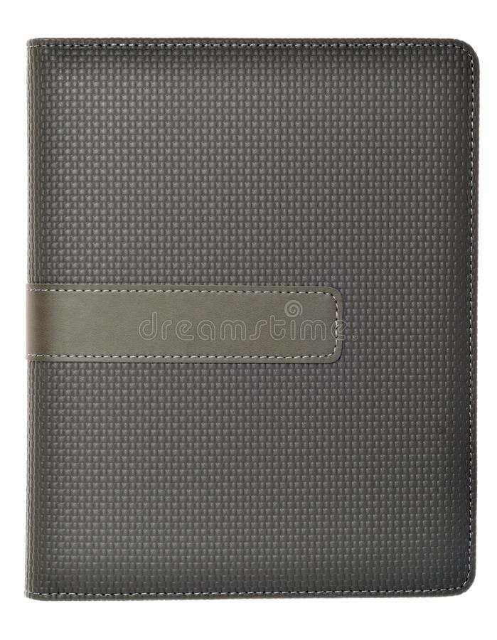 Grey Colored Note Book Royalty Free Stock Photo