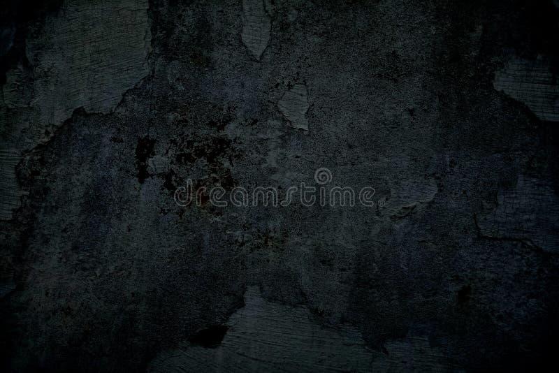 Grey Cracking e pintura do descascamento em uma parede velha Textura do fundo Fundo do Grunge imagens de stock royalty free