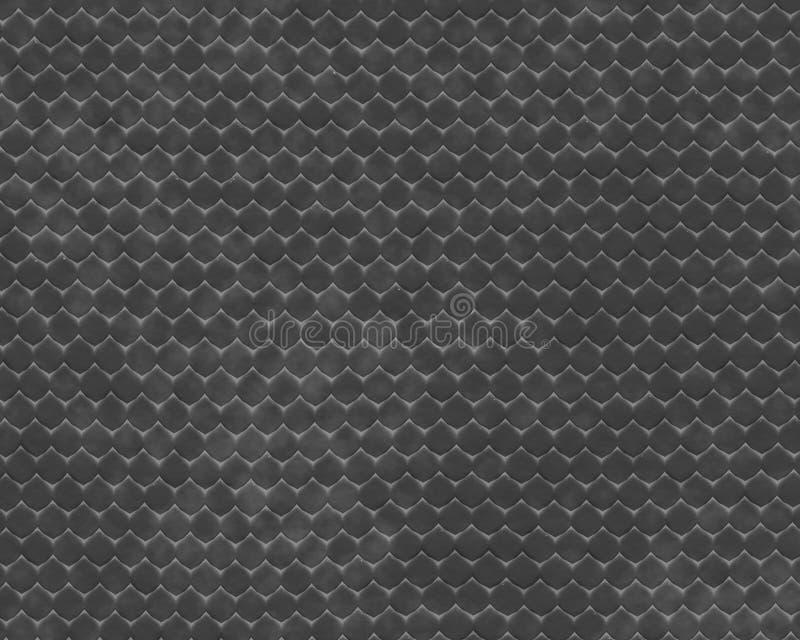 Grey del fondo della pelle del rettile fotografia stock libera da diritti