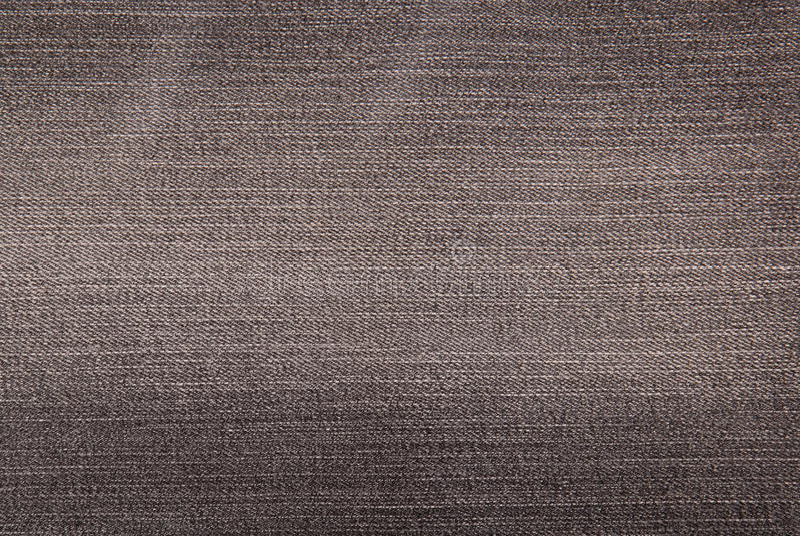 Grey denim background, material royalty free stock photos