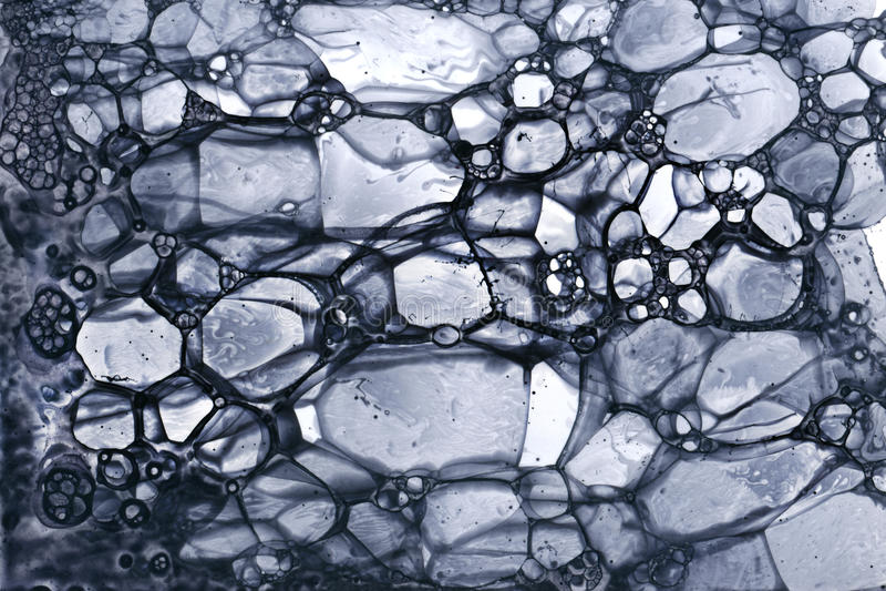 Grey di lerciume della bolla immagini stock