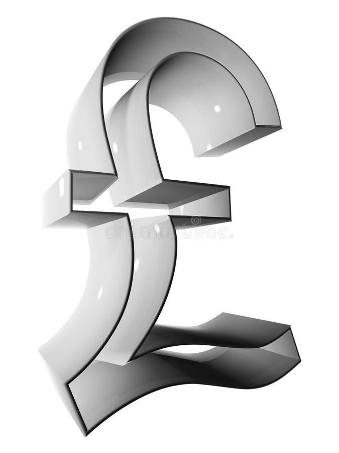 Grey di simbolo 3D 003 illustrazione vettoriale