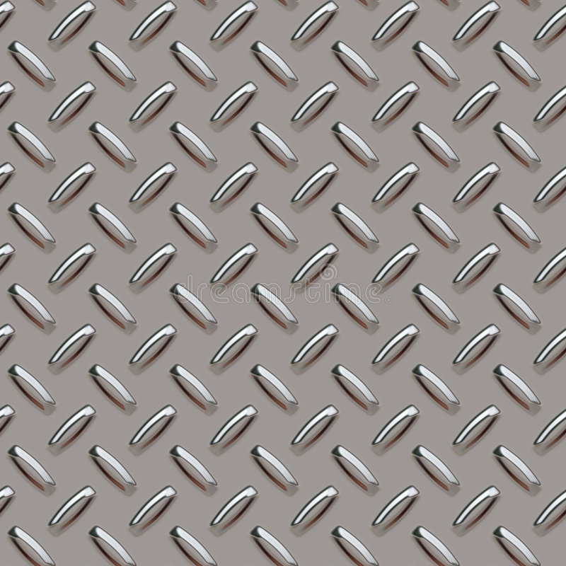 Download Grey diamond plate stock illustration. Illustration of illustration - 2270071