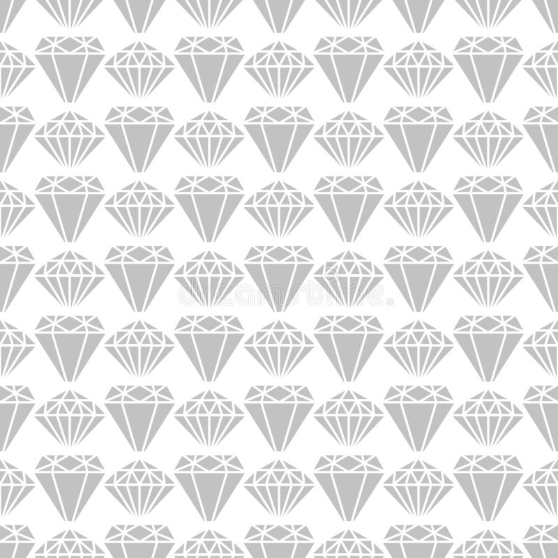Grey diamond shapes seamless pattern vector design vector illustration