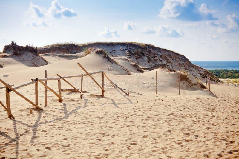 Grey Dunes stock afbeeldingen