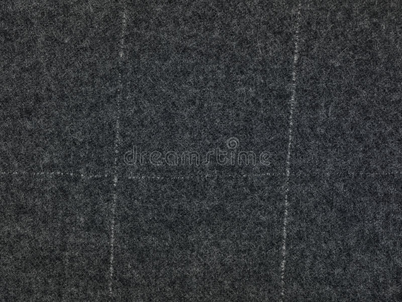 Grey finer textile background. Close up royalty free stock image