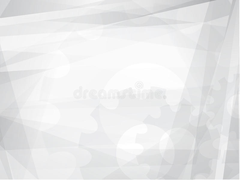 Grey Geometric Technology Background astratto illustrazione di stock