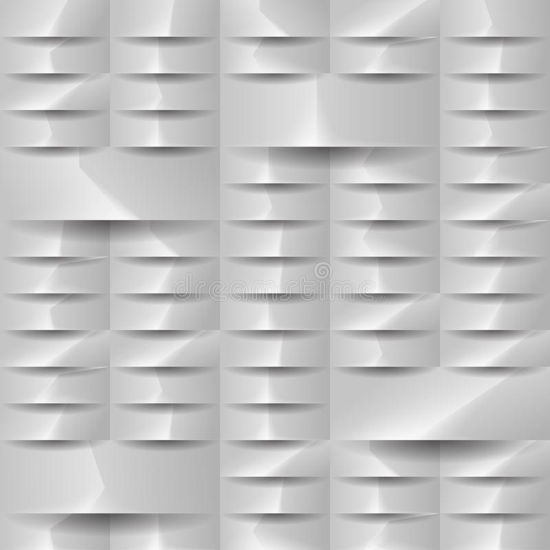 Grey geometric texture. Vector background can be used in cover design. royalty free stock photos