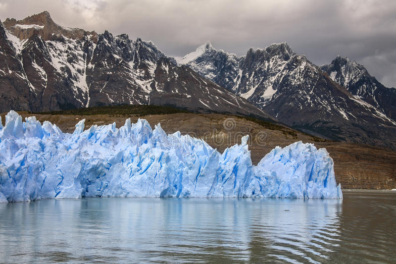 Grey Glacier - Patagonia - Chile stock image